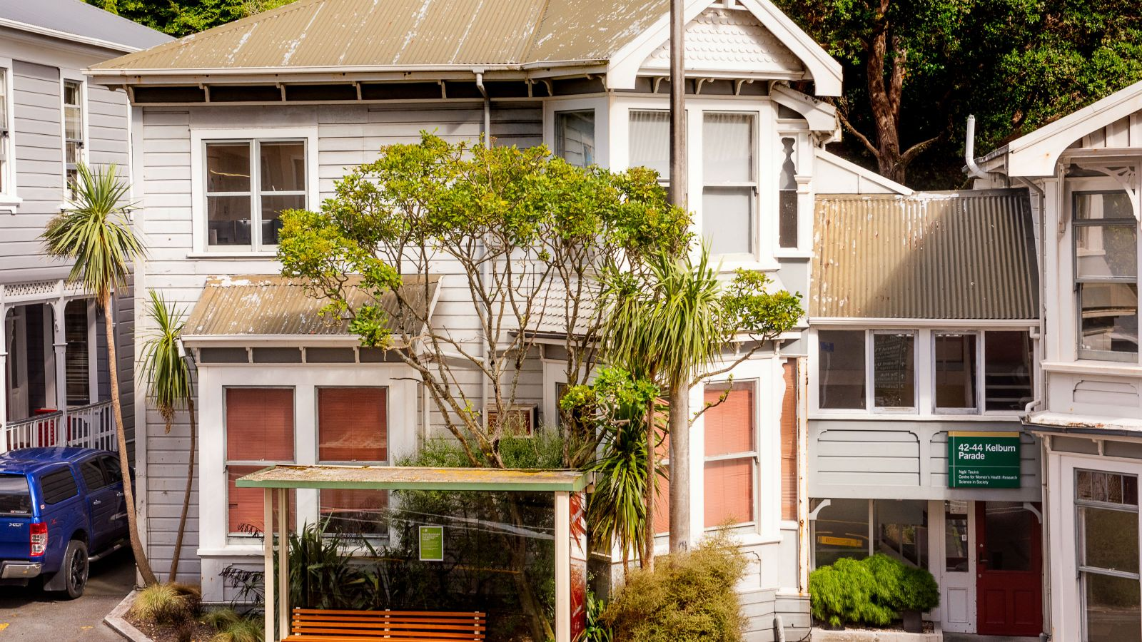 An image of 44 Kelburn Parade, the building where the Centre is based