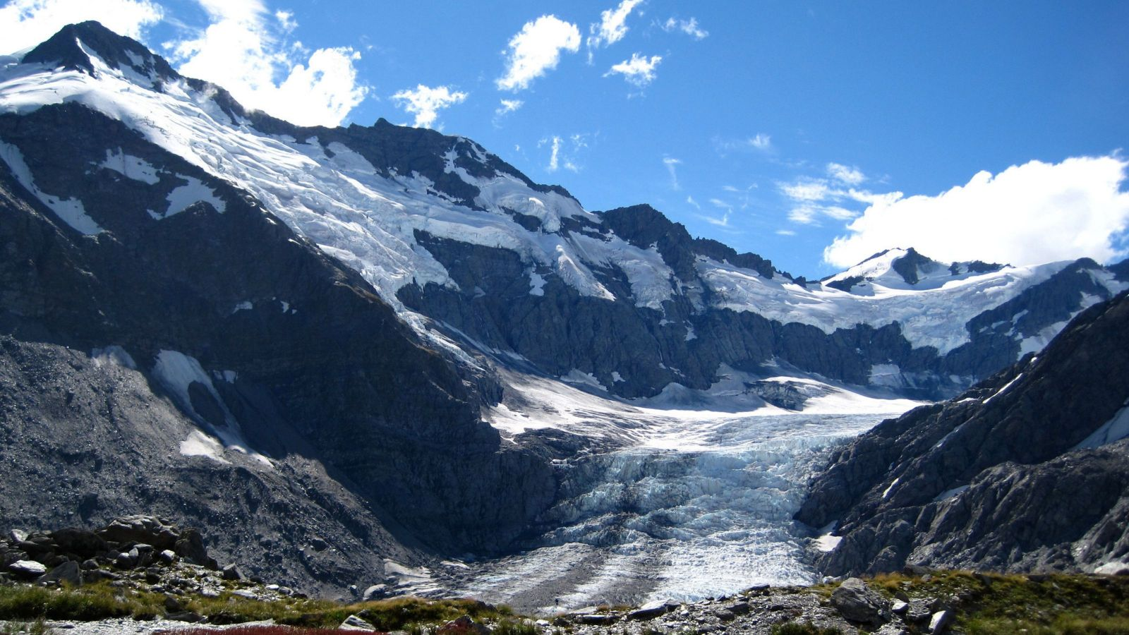 Greenhouse gas and glaciers