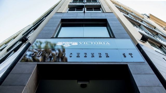 Victoria's new premises in Auckland CBD.