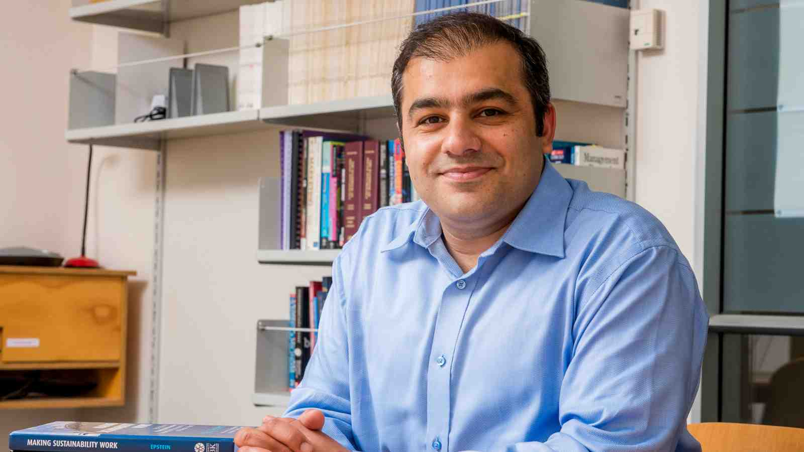A profile image of PhD graduate in International Business, Umar Ahmed.