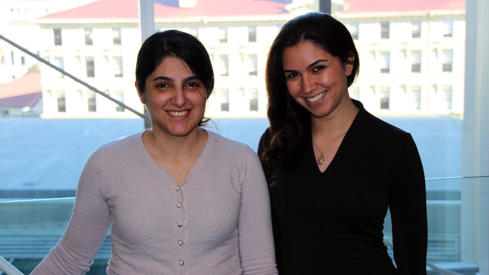 Dr Nazila Alinaghi and Hanna Habibi