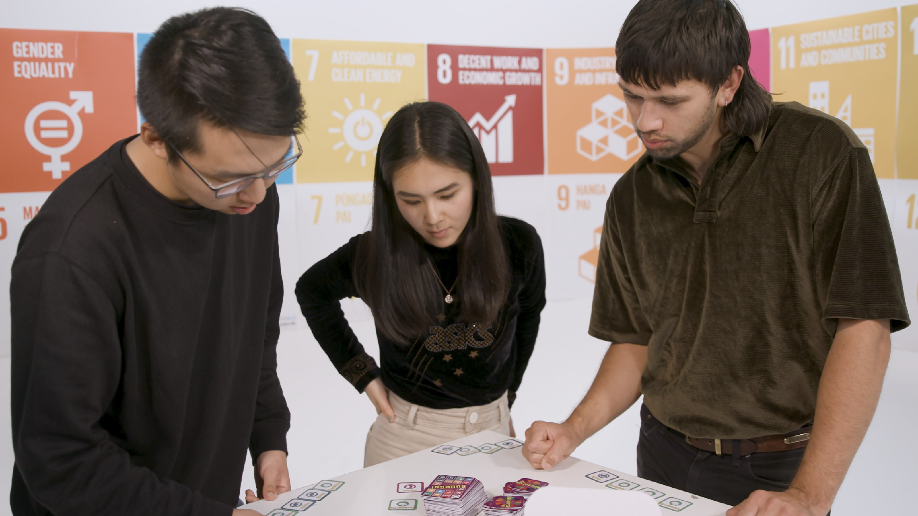 Students take part in a WILP seminar: Sustainable Development, Creative Agency