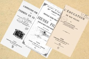 Primary sources analysed to understand the role of women in nineteenth century French education.