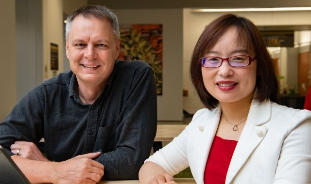 Professor Richard Arnold and Professor Bing Xue