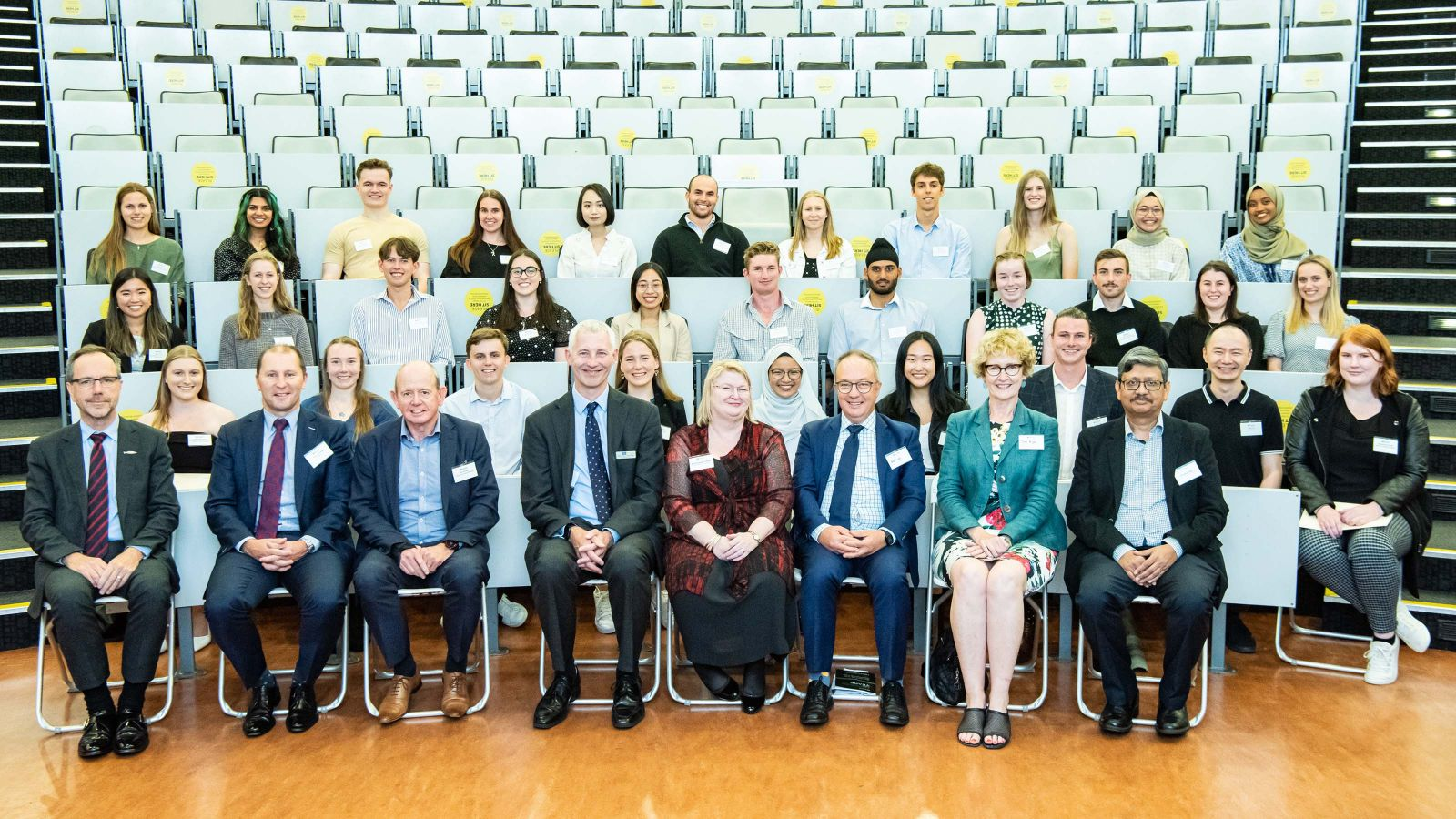 Students, staff, and stakeholders who attended the School of Accounting and Commercial Law Achievements Ceremony