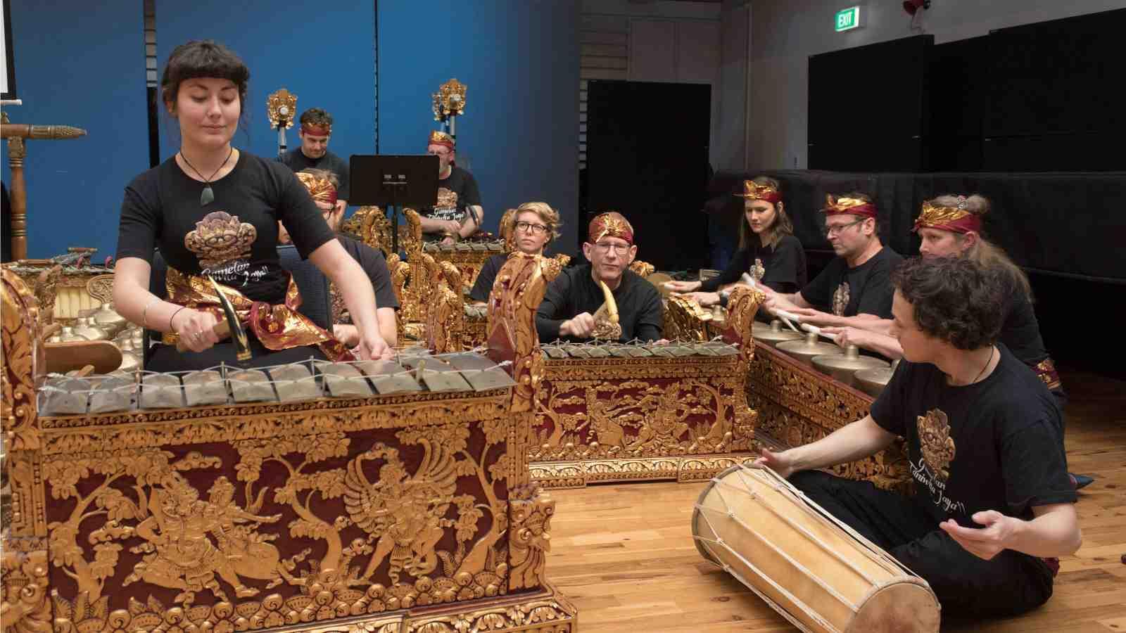 Gamelan ensemble performs at NZSM