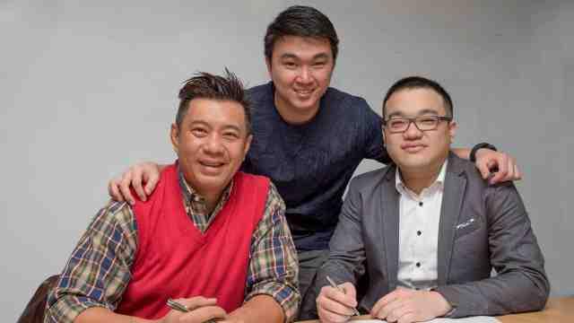 Sebastian Tan, Vincent Wong, Woei Siang Lim