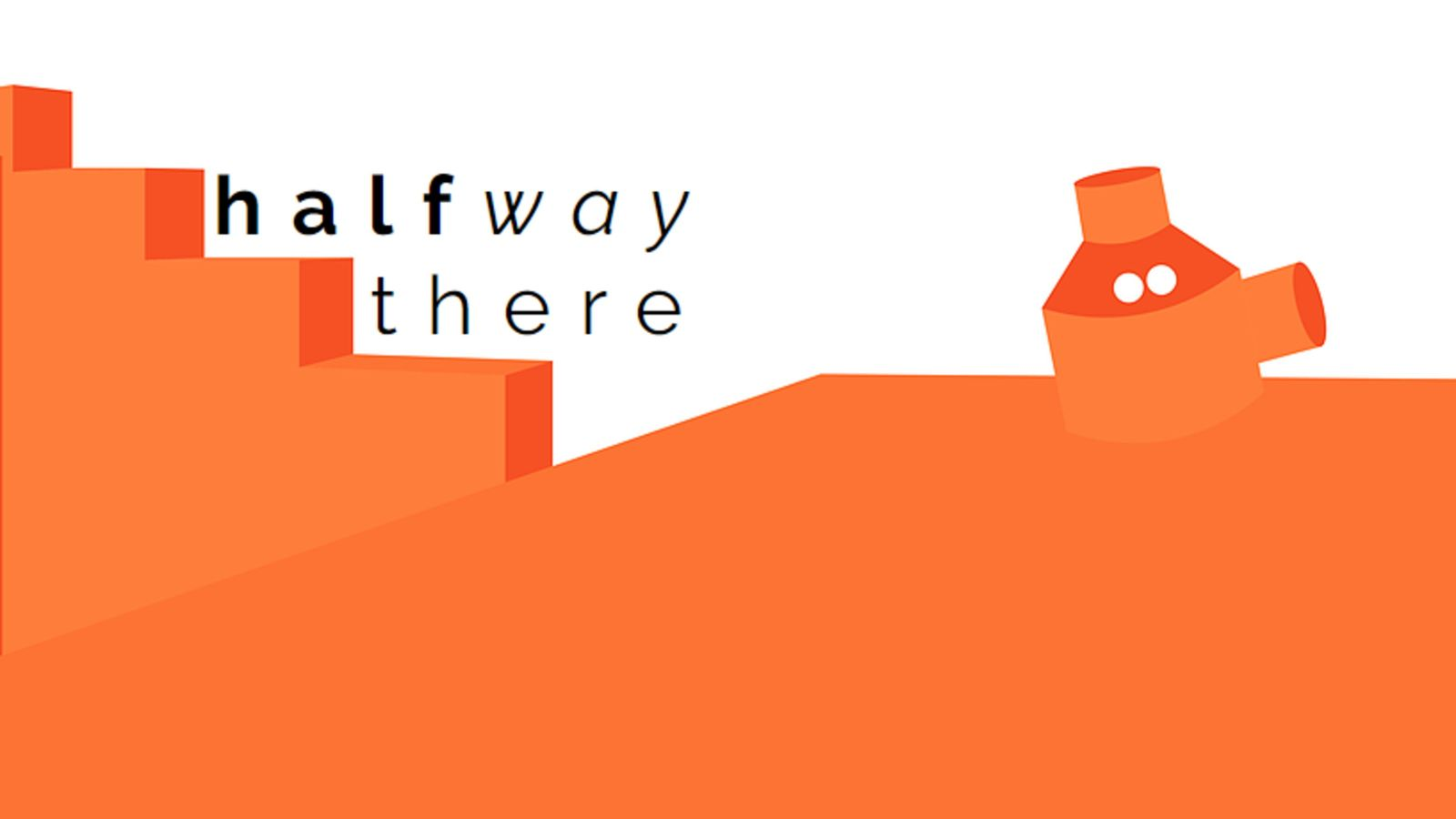 Halfway there exhibition poster