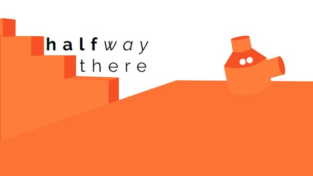 Poster –'Halfway there' exhibition