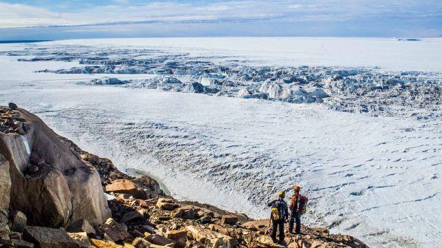 Mawson glacier, an outlet glacier to the Ross Sea