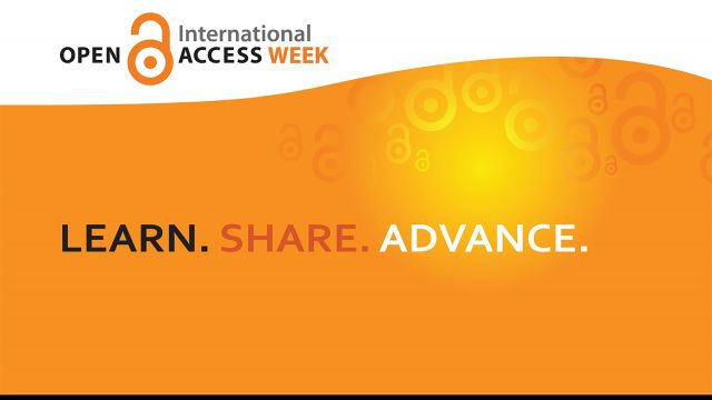 Open Access Week 2020 advertisement