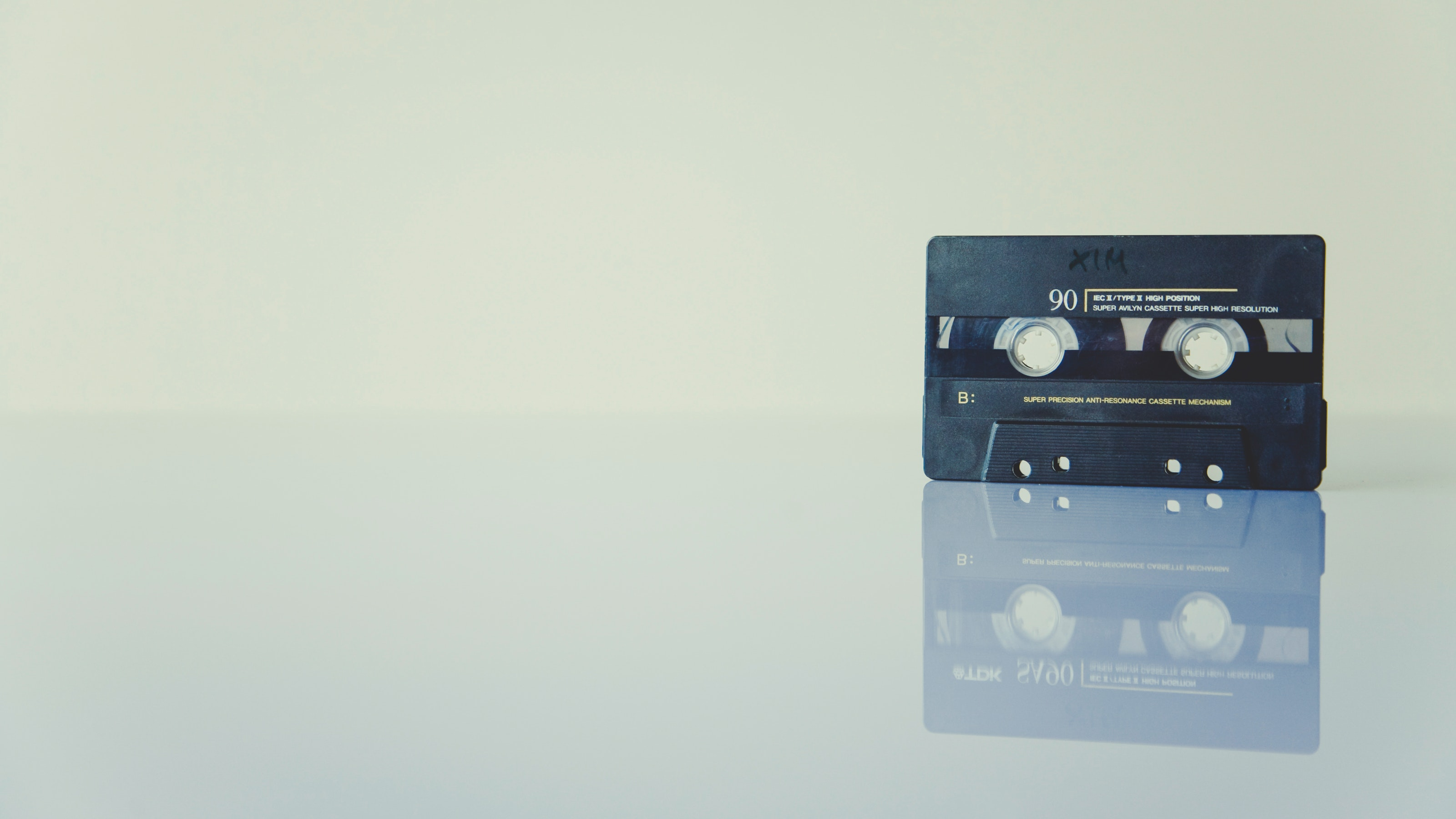 An old cassette tape.