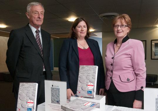 Professor Susy Frankel with Hon John Banks and Professor John Burrows