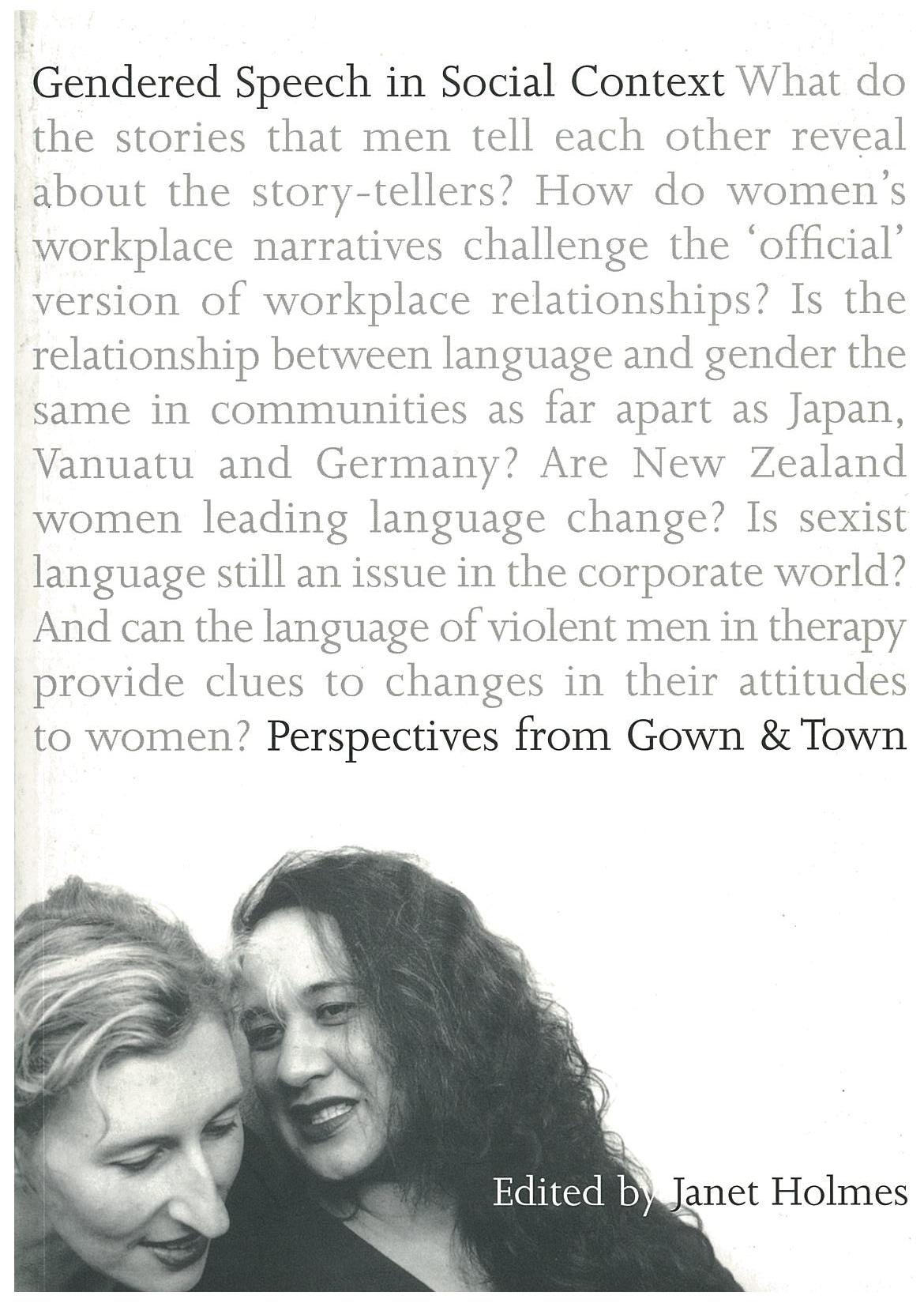 Gendered Speech in Social Context
