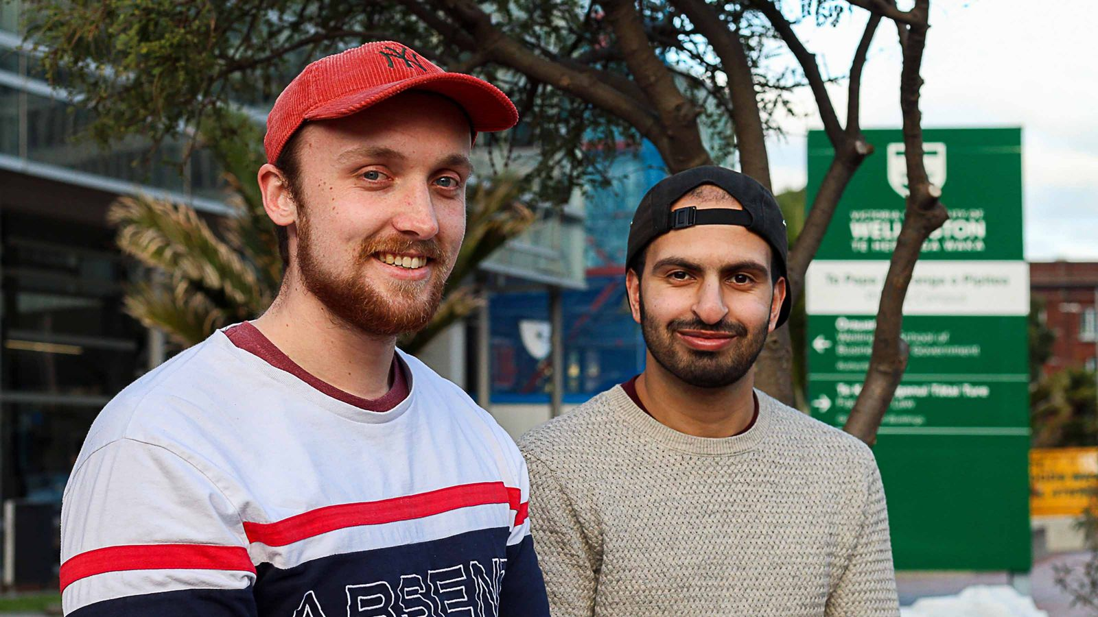 Cameron and Mohammad from Qisma Tech