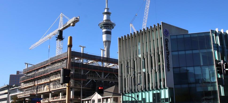 Auckland convention centre construction