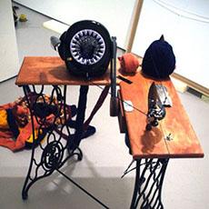 A knitting machine