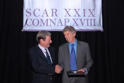 Professor Peter Barrett wins SACR medal