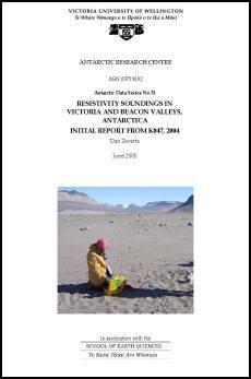 <h2>Antarctic Data Series #31</h2> cover