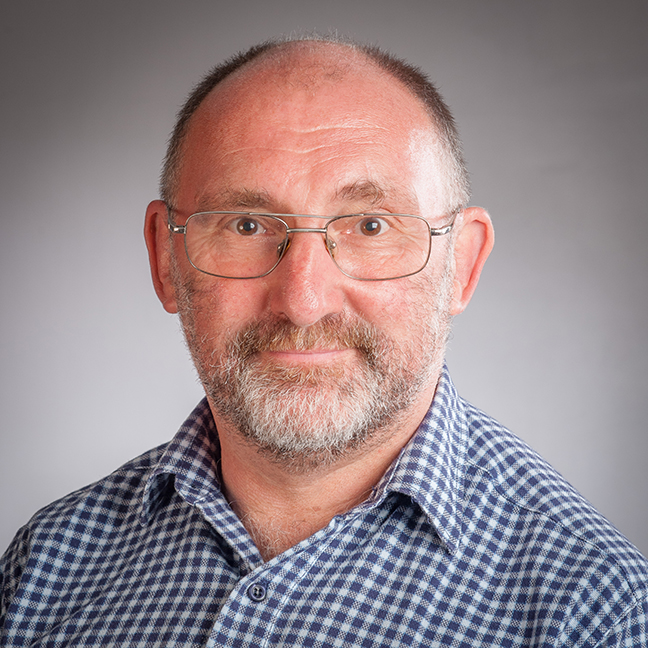 Prof Jim McAloon profile-picture photograph