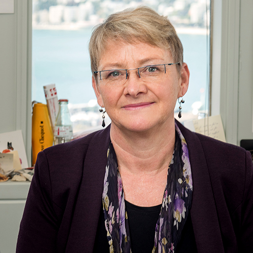 Prof Sally Davenport profile-picture photograph
