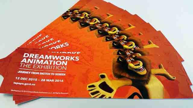 DreamWorks exhibition at Te Papa
