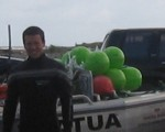 Team with boat